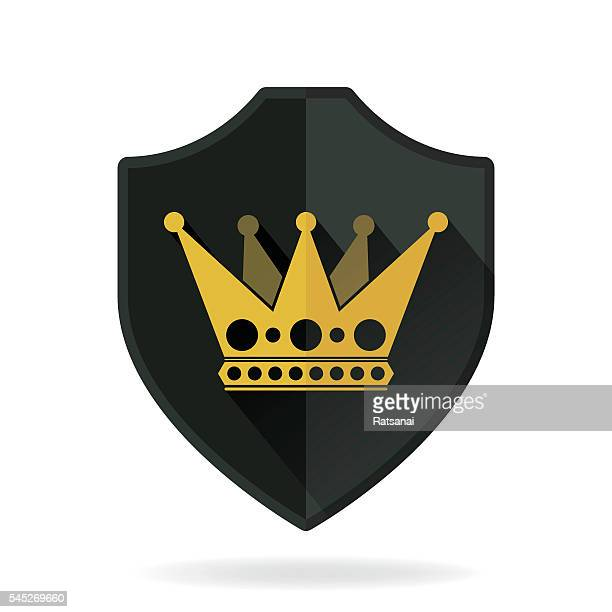 crown and shield - {{relatedsearchurl('county fair')}} stock illustrations, clip art, cartoons, & icons
