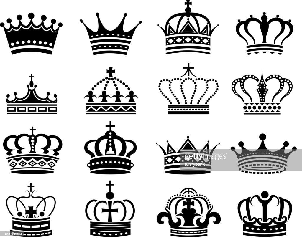 Crown Symbols Vector Art Getty Images