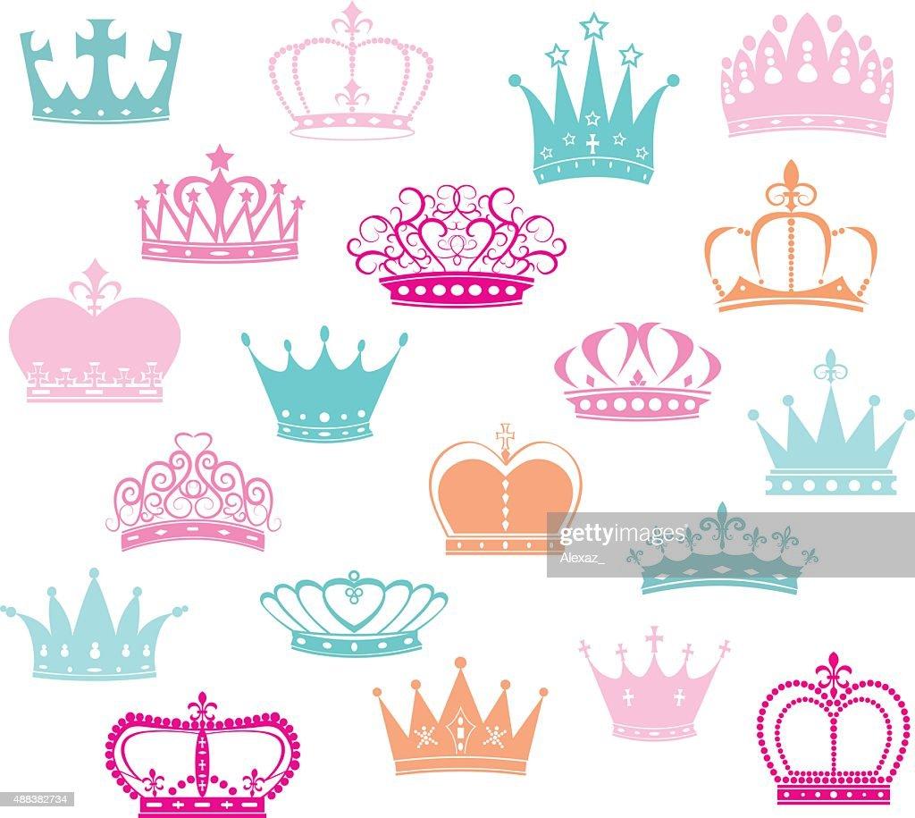 Crown Silhouette,Princess Crown