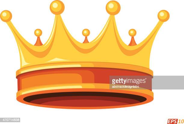 crown - medieval queen crown stock illustrations
