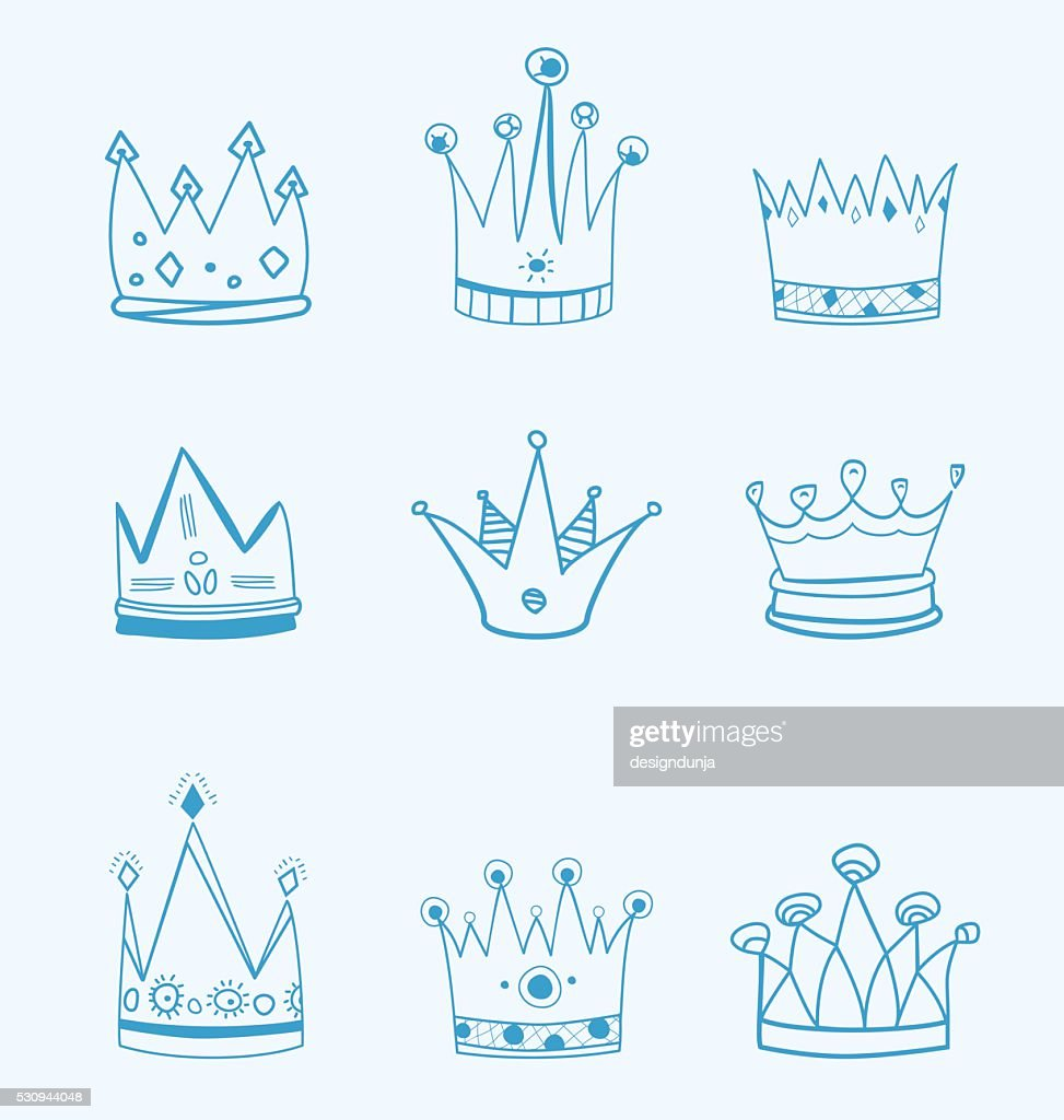 Crowns Illustrations