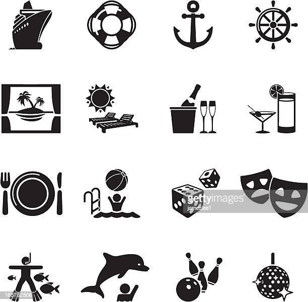 Cruise Liner Icons