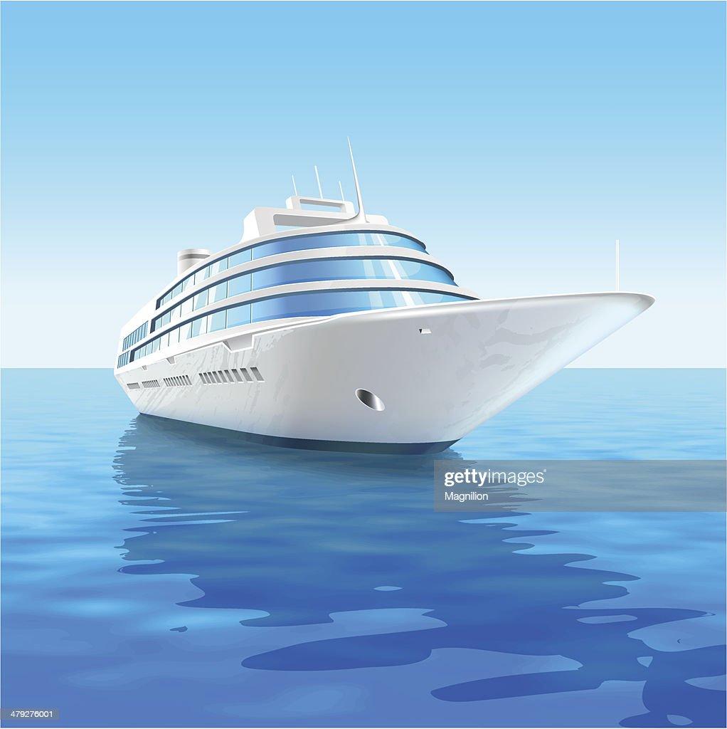 Cruise liner : stock illustration