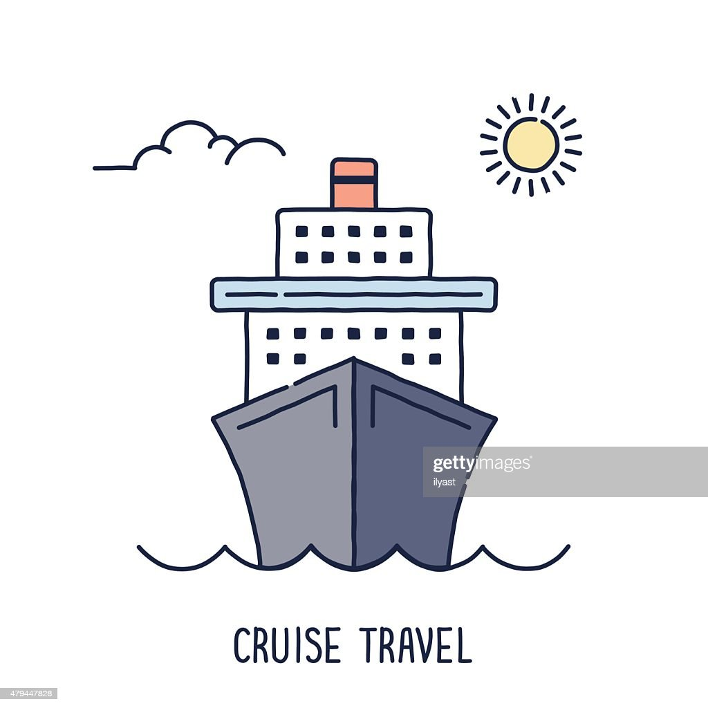 Cruise Ship Symbol Vector Art Getty Images