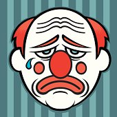 ef2af7dcb Free download of Sad Clown Face Paint vector graphics and illustrations
