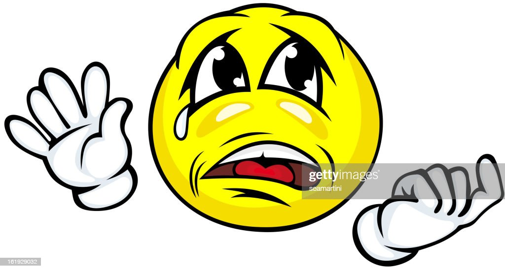 Crying Face Vector Art Getty Images