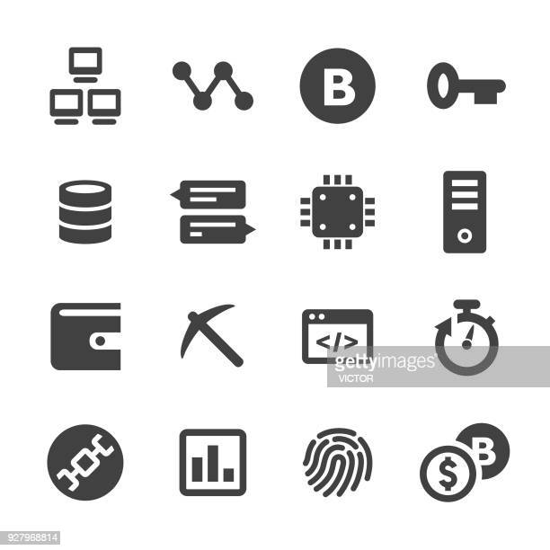 Cryptocurrency Icons Set - Acme Series