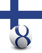 Crystal Ball Flag - Finland