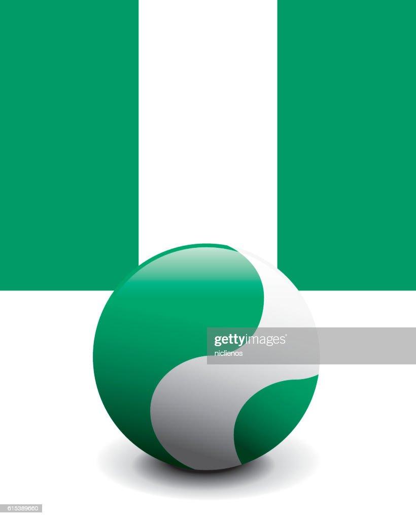 Crystal Ball Flag - Nigeria