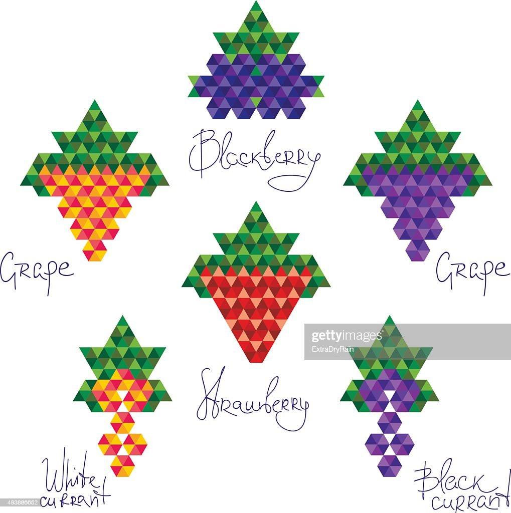 Crystal berries