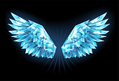 Crystal ice wings