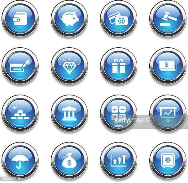 Crystal Icons Set | Banking & Finance