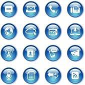 Crystal Icons Set | Communication