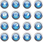 Crystal Icons Set   Education