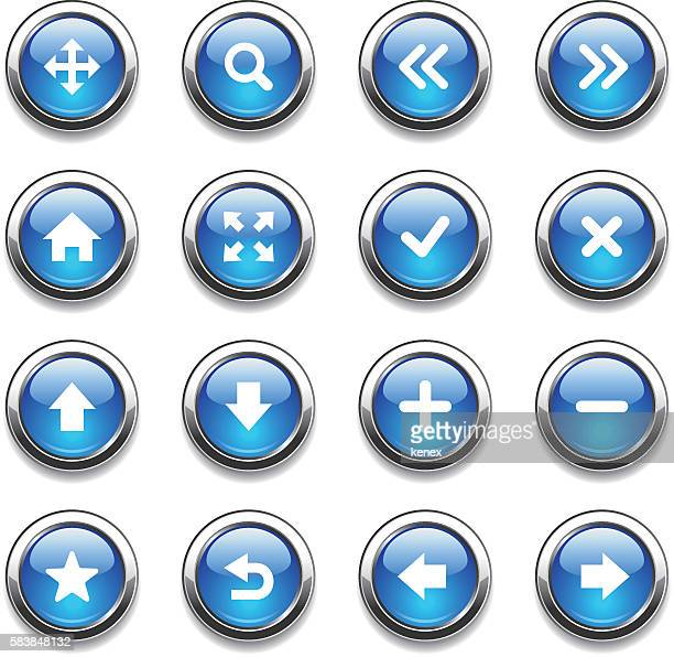 Crystal Icons Set | Web Design