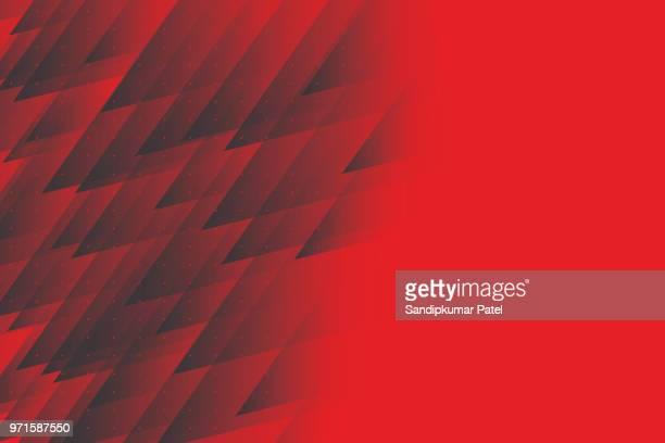 kristall-dreieck-hintergrund. vektor-illustration - roter hintergrund stock-grafiken, -clipart, -cartoons und -symbole