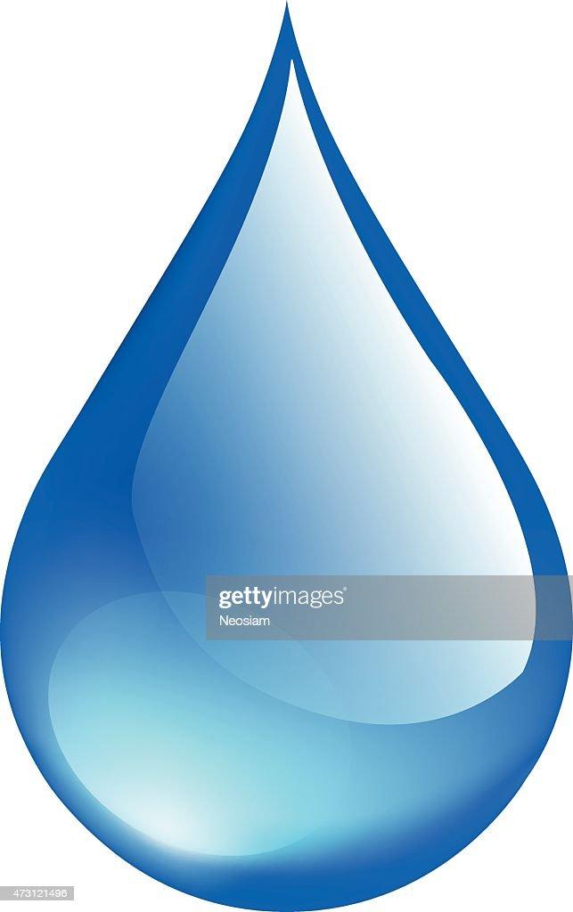 Crystal Water drop