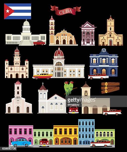 cuba symbols - cuban ethnicity stock illustrations, clip art, cartoons, & icons