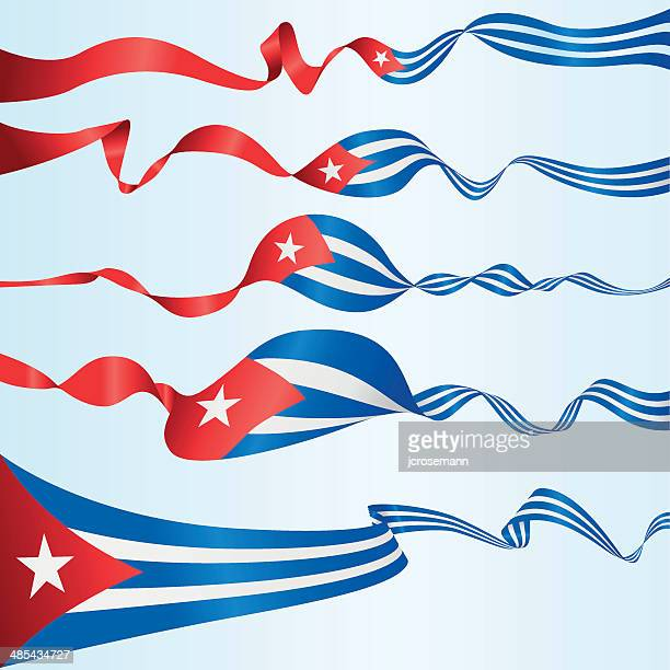 cuban banners - cuban culture stock illustrations, clip art, cartoons, & icons
