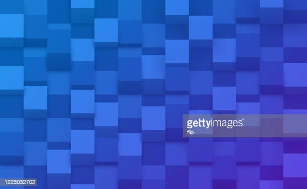 cube checkered abstract background - solid stock illustrations