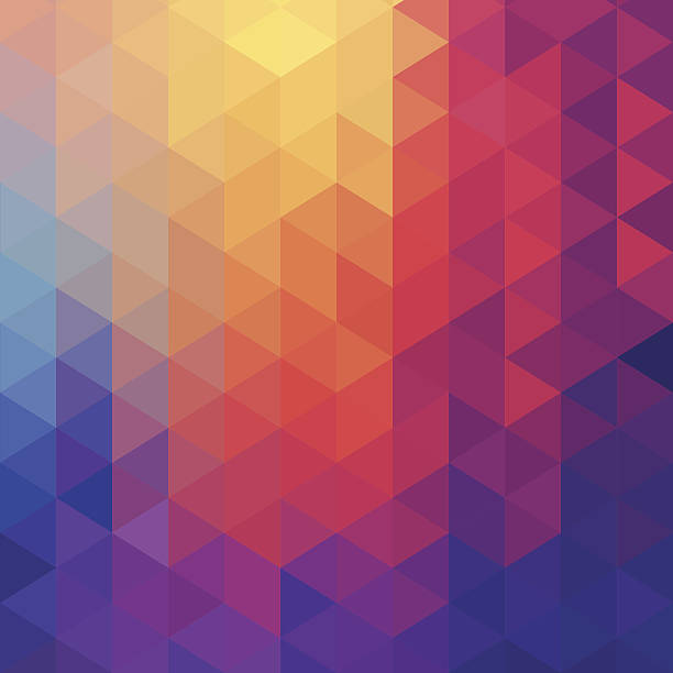 Cube Diamond Abstract Background Wall Art