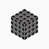 Cube, geometric element