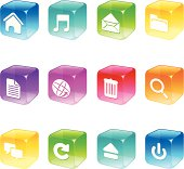 Cube Icons - Computer Applications Series
