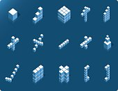 Cubic Icons Set #01 [vector]