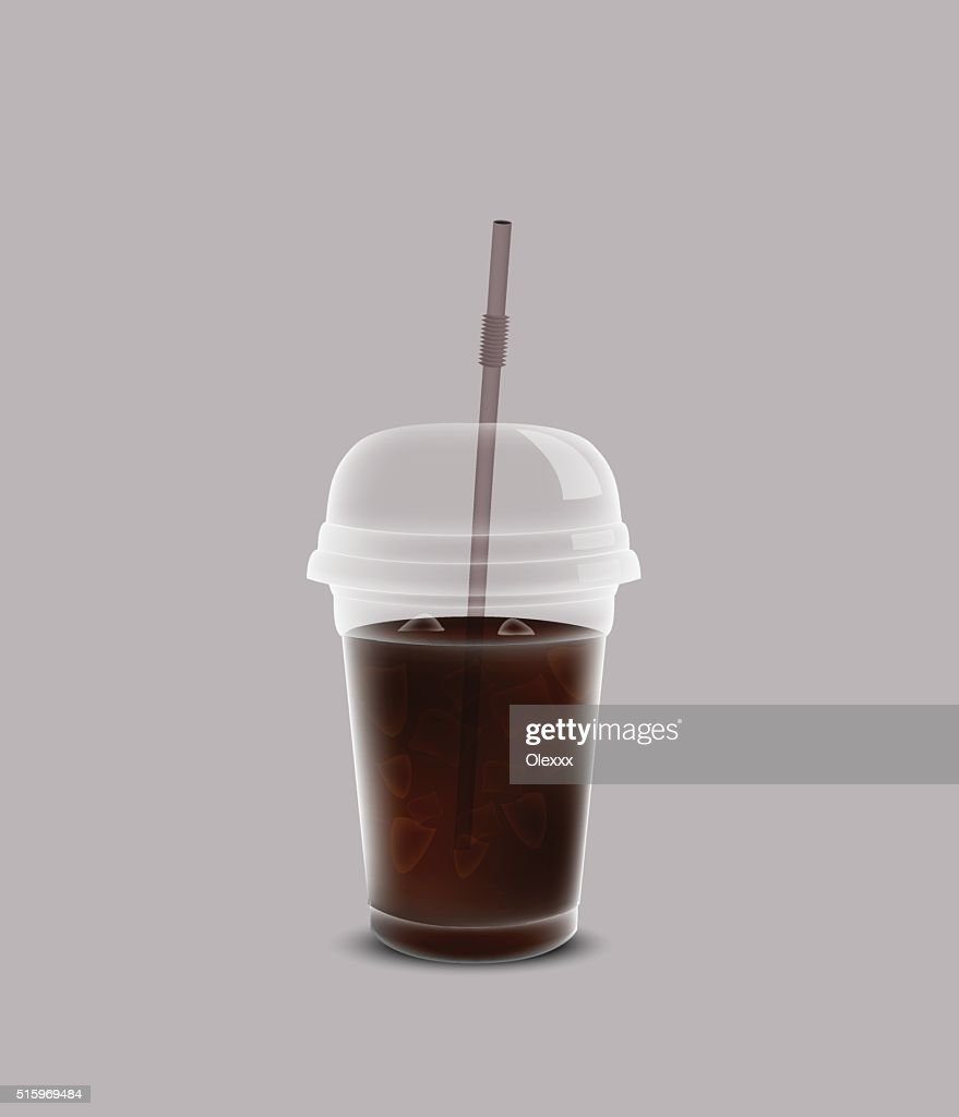 Cup of coca cola for your design