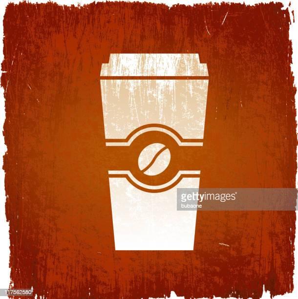 ilustraciones, imágenes clip art, dibujos animados e iconos de stock de taza de café sobre fondo de vector sin royalties - al vapor