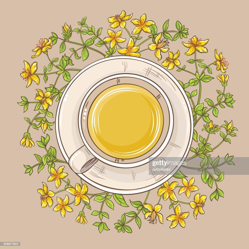 cup of tutsan tea