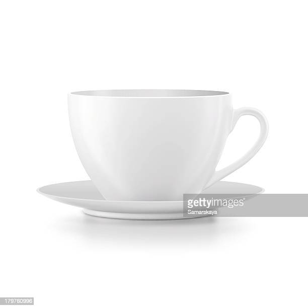 cup - saucer stock illustrations