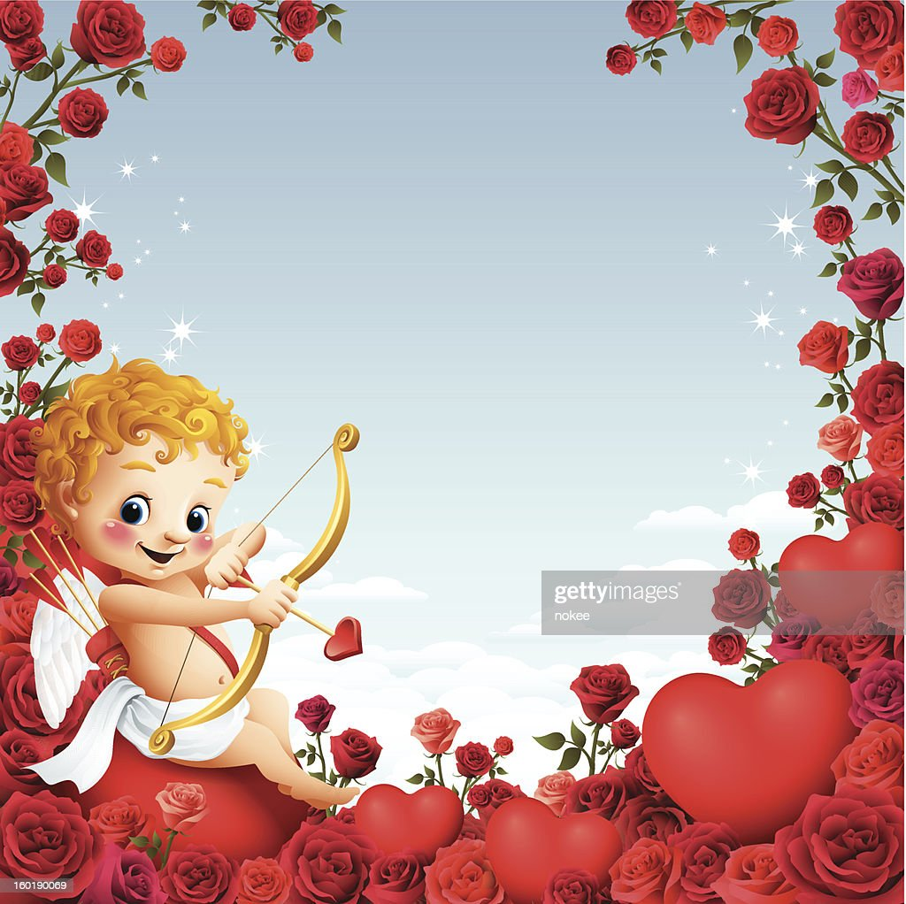 Cupid - Rose Border