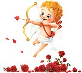 Cupid - Roses