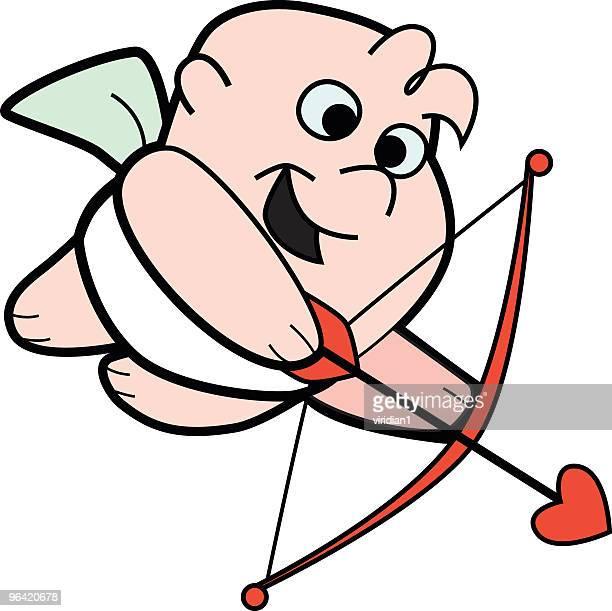 illustrations, cliparts, dessins animés et icônes de cupid's arrow - cupidon humour