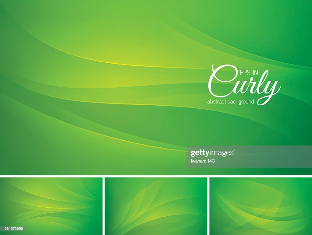 Curly abstract background