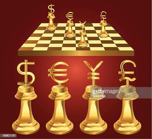 ilustraciones, imágenes clip art, dibujos animados e iconos de stock de moneda de ajedrez - tablero de ajedrez