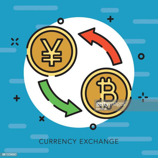 Currency Exchange Open Outline Bitcoin Icon
