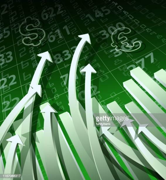 ilustrações, clipart, desenhos animados e ícones de gráfico de moeda - reforma assunto