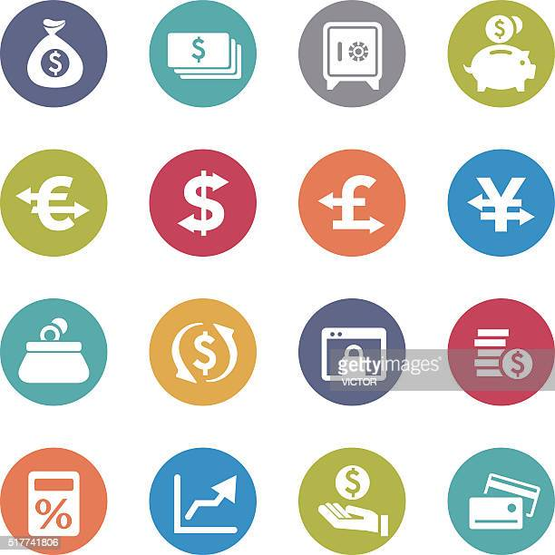 Currency Icons - Circle Series