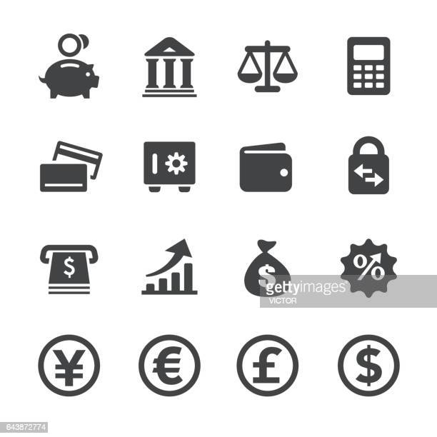 Currency Icons Set - Acme Series