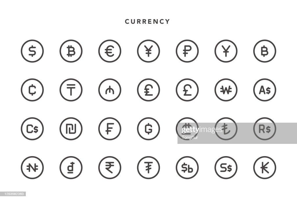 通貨アイコン : ストックイラストレーション