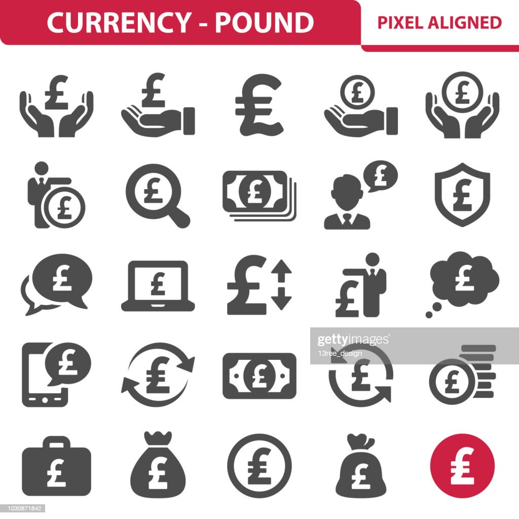 Currency- Pound Icons