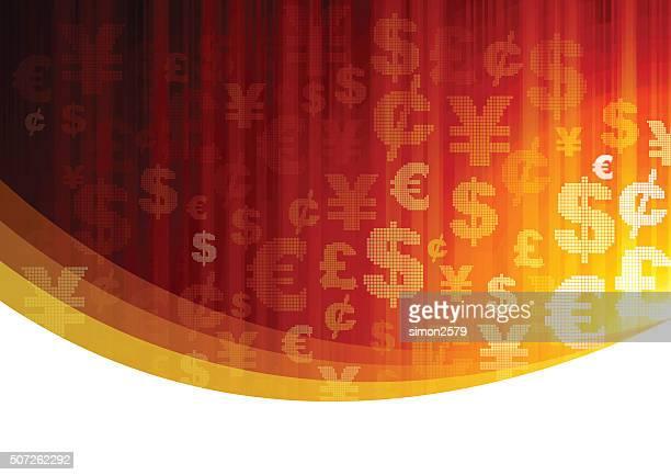 通貨記号背景