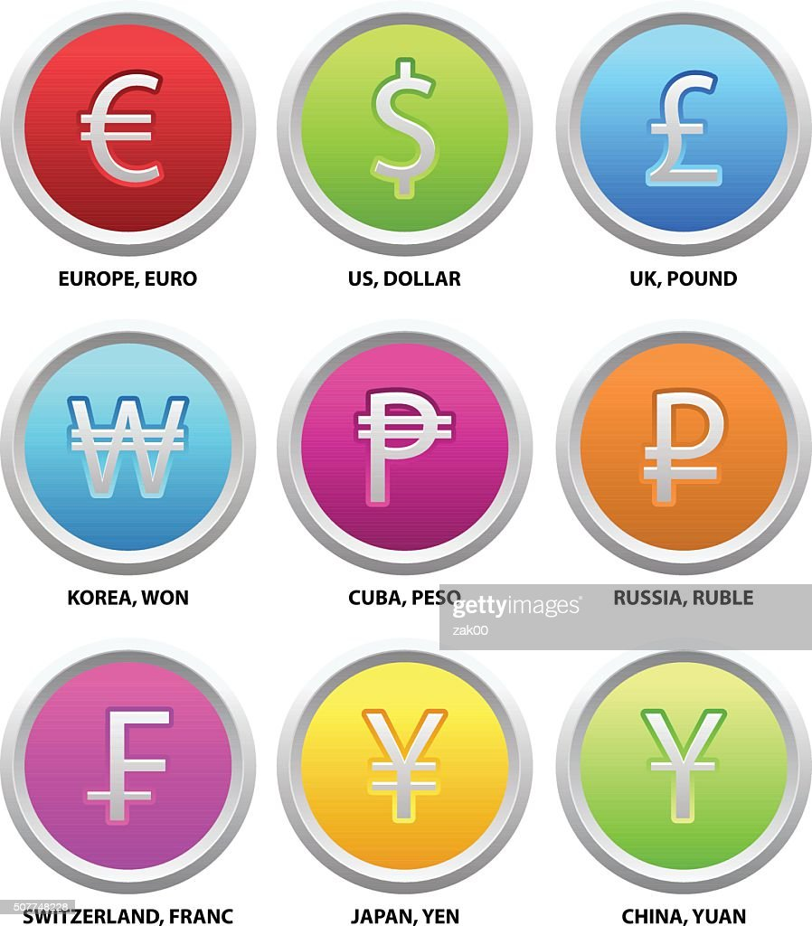 Currency symbols vector art getty images currency symbols biocorpaavc