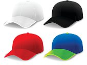 Curved Brim Hats