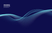 Curved particle backgrounds intertwined