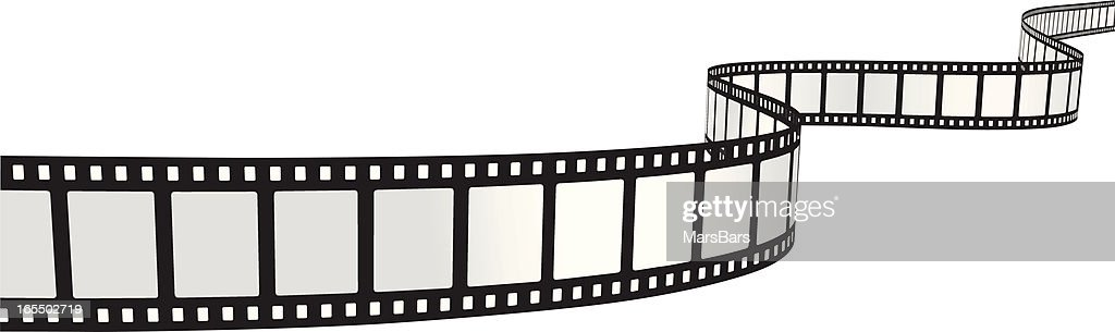 Curvy Filmstrip [VECTOR] : stock illustration
