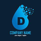 Custom letter design template