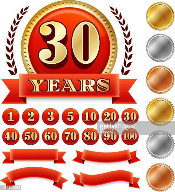 Custome Anniversary Badges